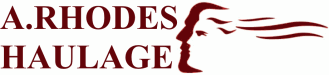 A Rhodes Haulage Logo