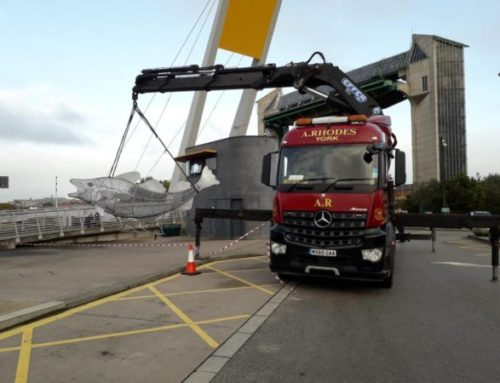 Things get a bit Fishy at A Rhodes Haulage Let